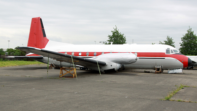 G-BEJD - Hawker Siddeley HS-748 - Dan-Air London