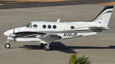 N30JR - Beechcraft C90A King Air - Private