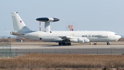LX-N90446 - Boeing E-3A Sentry - NATO - Airborne Early Warning Force