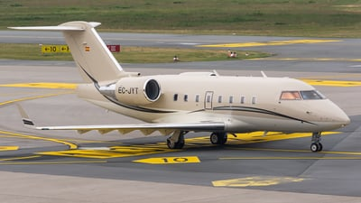 EC-JYT - Bombardier CL-600-2B16 Challenger 604 - Tag Aviation España