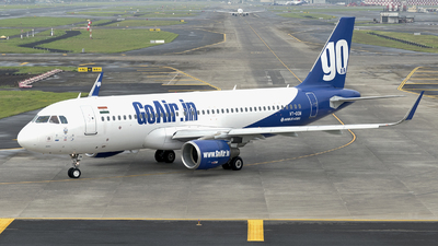 A picture of VTGON - Airbus A320214 - Go Air - © Arjun Sarup