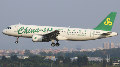 B-6902 - Airbus A320-214 - Spring Airlines