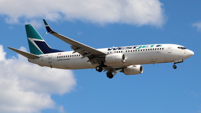 A picture of CGVWA - Boeing 7378CT - WestJet - © Guy Langlois