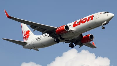 PK-LOJ - Boeing 737-8GP - Lion Air