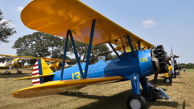 N175SE - Boeing A75N1 Stearman - Private