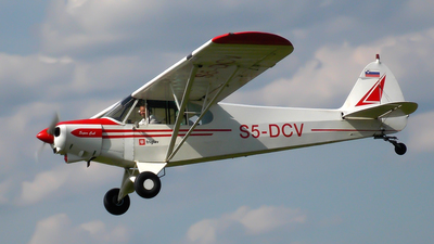 S5-DCV - Piper PA-18 Super Cub - Private