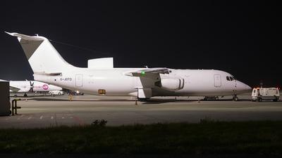 A picture of GJOTD - BAe 146300QT - Jota Aviation - © KonradWyszynski