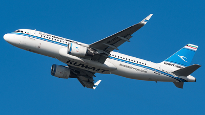 A picture of 9KAKH - Airbus A320214 - Kuwait Airways - © Matteo Buono