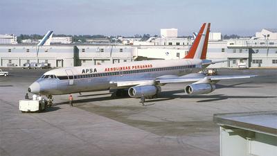 OB-R-765 - Convair CV-990 - APSA - Aerolíneas Peruanas
