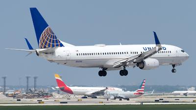 N54241 - Boeing 737-824 - United Airlines