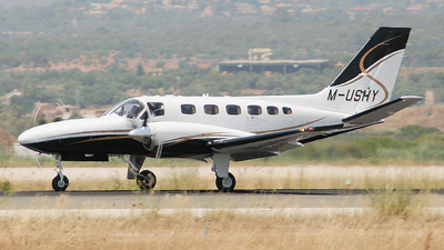 M-USHY - Cessna 441 Conquest II - Private