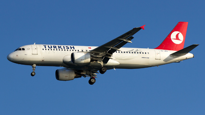 TC-JPV - Airbus A320-214 - Turkish Airlines
