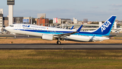 JA61AN - Boeing 737-881 - All Nippon Airways (ANA)