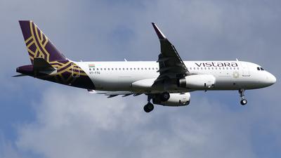 VT-TTG - Airbus A320-232 - Vistara