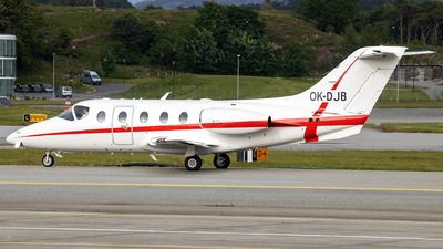 A picture of OKDJB - Nextant 400XT - Time Air - © R.Rimestad
