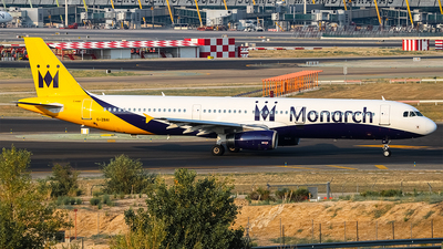 G-ZBAI - Airbus A321-231 - Monarch Airlines