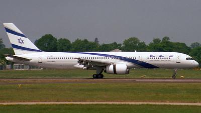 4X-EBV - Boeing 757-258 - El Al Israel Airlines