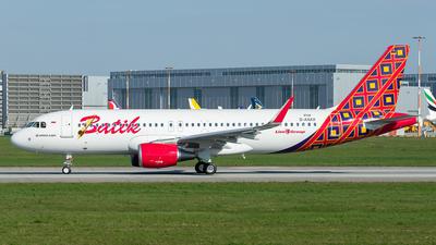 D-AXAX - Airbus A320-214 - Batik Air