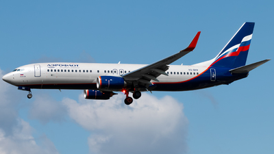 VQ-BHV - Boeing 737-8LJ - Aeroflot