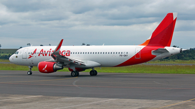 PR-ONY - Airbus A320-214 - Avianca Brasil