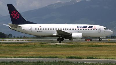 N734MA - Boeing 737-3Q8 - Morris Air Services