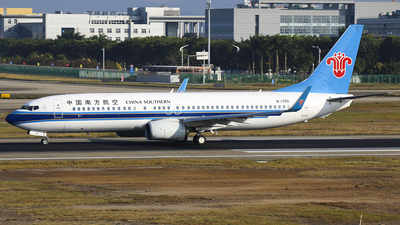 B-1700 - Boeing 737-86N - China Southern Airlines