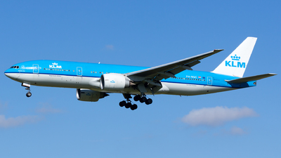 PH-BQC - Boeing 777-206(ER) - KLM Royal Dutch Airlines