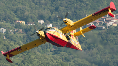 I-DPCT - Canadair CL-415 - Italy - Vigili del Fuoco