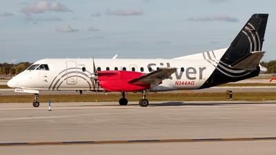N344AG - Saab 340B+ - Silver Airways