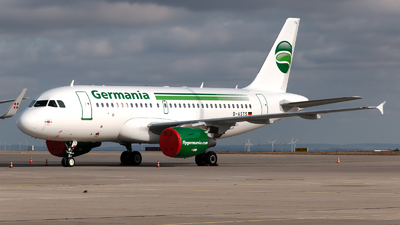 D-ASTS - Airbus A319-112 - Germania