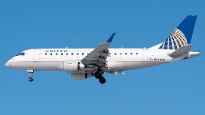 A picture of N644RW - Embraer E170SE - United Airlines - © Evan Dougherty
