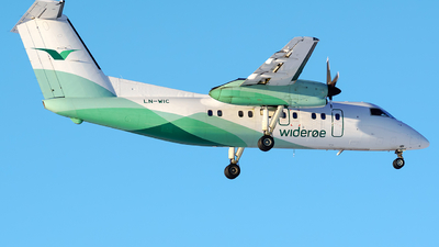 LN-WIC - Bombardier Dash 8-103 - Widerøe