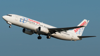 A picture of ECLQX - Boeing 73785P - Air Europa - © Sybren Meijntz