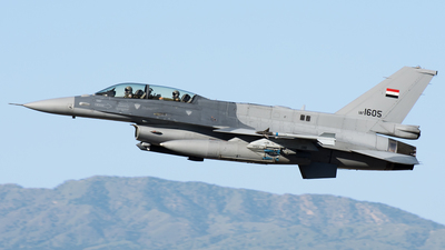 1605 - Lockheed Martin F-16D Fighting Falcon - Iraq - Air Force