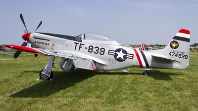 NL50FS - North American P-51D Mustang - Private
