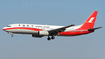 A picture of B2167 - Boeing 7378Q8 - [30631] - © sunshy0621