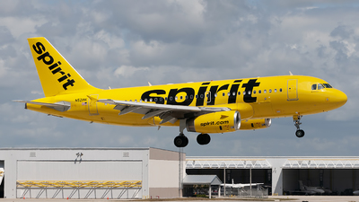 A picture of N521NK - Airbus A319132 - Spirit Airlines - © Mark Lawrence