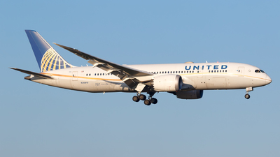 A picture of N26910 - Boeing 7878 Dreamliner - United Airlines - © Matteo Lamberts