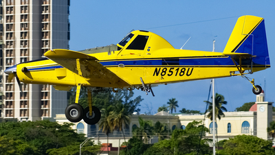 N8518U - Air Tractor AT-502B - Private