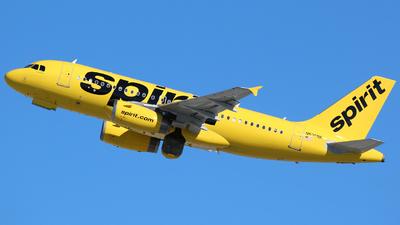 N530NK - Airbus A319-132 - Spirit Airlines