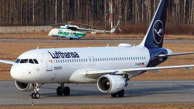 A picture of DAIZD - Airbus A320214 - Lufthansa - © Igor Dvurekov