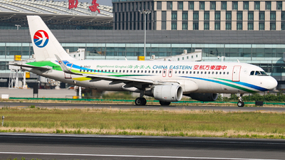 A picture of B9943 - Airbus A320214 - China Eastern Airlines - © Captain Zhang