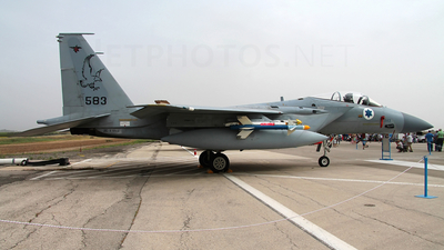 583 - McDonnell Douglas F-15C Baz - Israel - Air Force