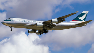 B-HUH - Boeing 747-467F(SCD) - Cathay Pacific Cargo