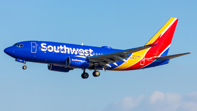 A picture of N202WN - Boeing 7377H4 - Southwest Airlines - © Micah Vobora