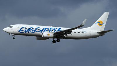 5B-DBX - Boeing 737-8Q8 - Eurocypria Airlines