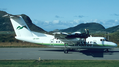 LN-WFI - De Havilland Canada DHC-7-102 Dash 7 - Widerøe