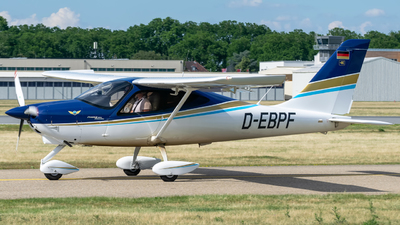 D-EBPF - Tecnam P2008JC MkII - Private