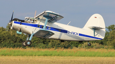 D-FWJK - PZL-Mielec An-2 - Private