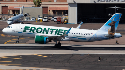 A picture of N370FR - Airbus A320251N - Frontier Airlines - © Saul Hannibal